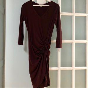 Velvet Graham and Spencer Ruched Dress